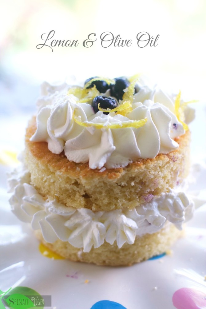 Lemon Olive Oil Cream Cake by Angela Roberts