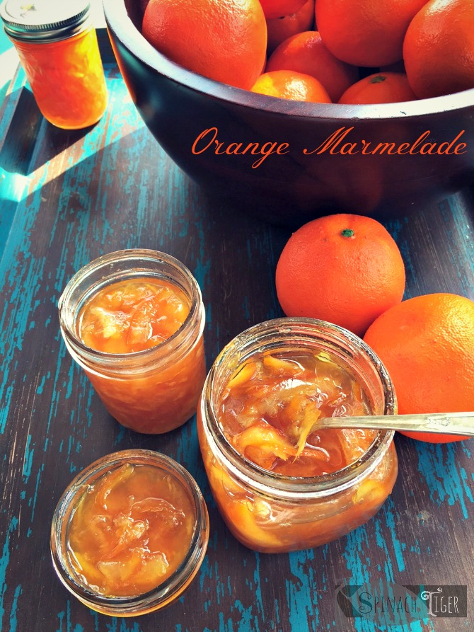Homemade Orange Marmelade by Angela Roberts