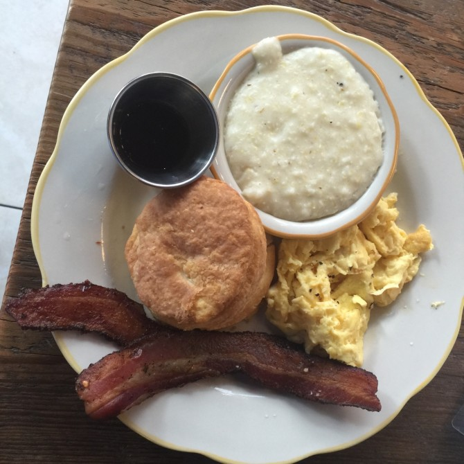 Bacon Eggs at Biscuit Love