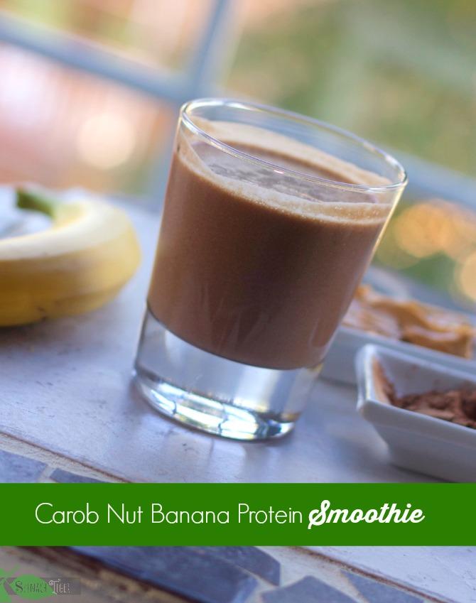 Carob Nut Protein Smoothie