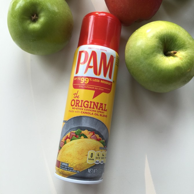 Caramelized Apple Pie Made Easy with Pam Spray