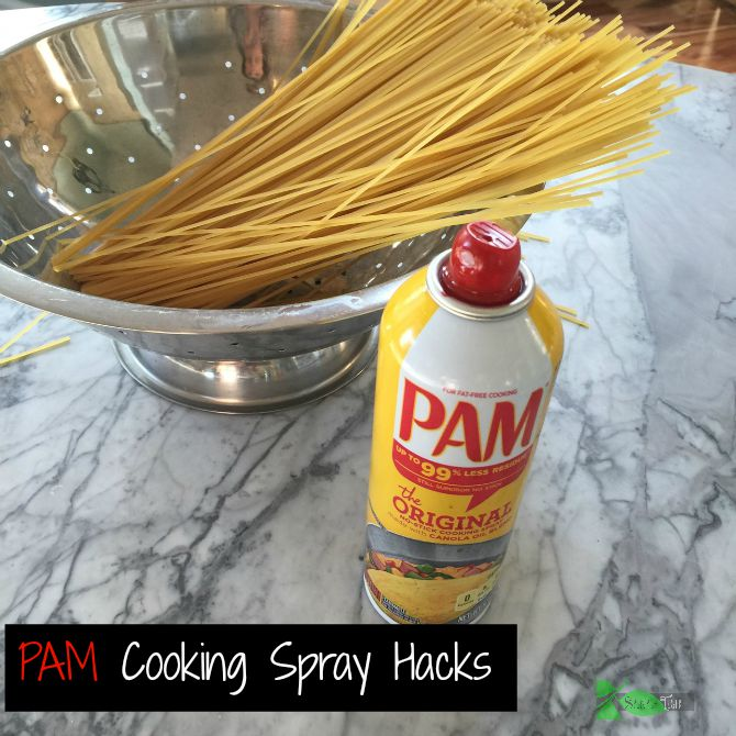 Pam Cooking Spray Hacks by Spinach Tiger