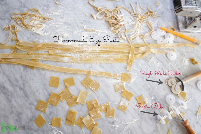Pasta Cutters for Homemade Egg Noodles
