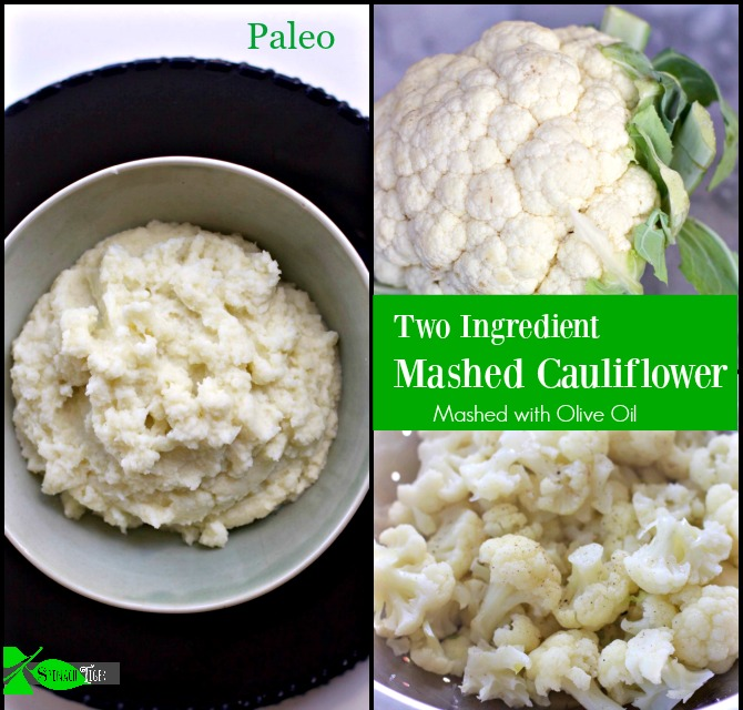 Mashed Cauliflower Paleo by Angela Roberts