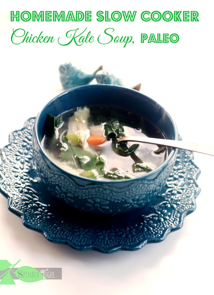 Weight Loss Paleo Soups - Chicken Kale Soup, Paleo