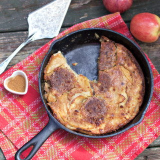 Country Sausage Apple Dutch Baby, Southern Style
