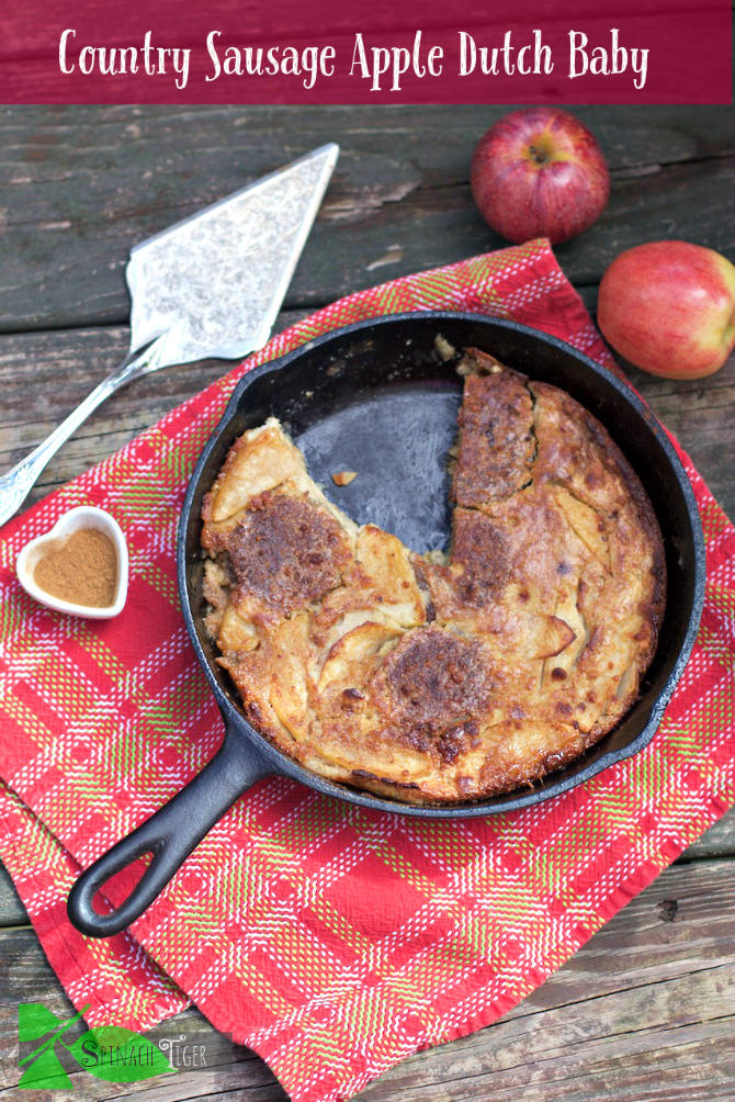 Country Sausage Apple Dutch Baby
