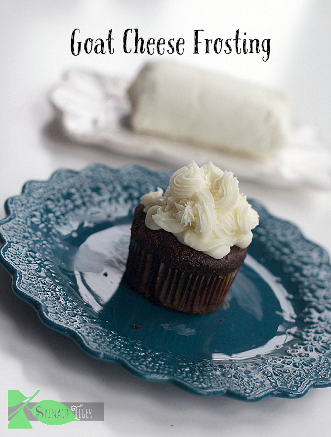 Goat Cheese Frosting by Spinach Tiger