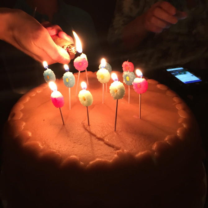 Cake at Fire Fly