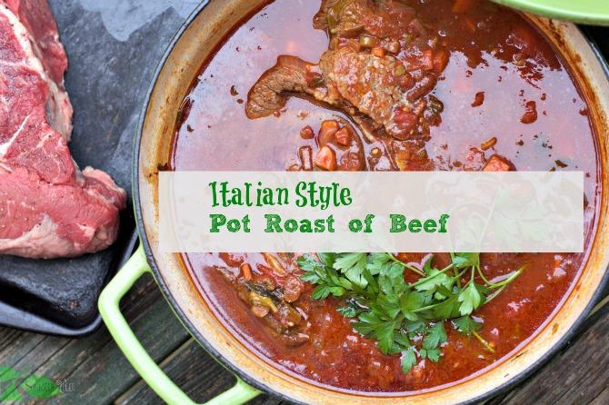 Italian Style Pot Roast of Beef1
