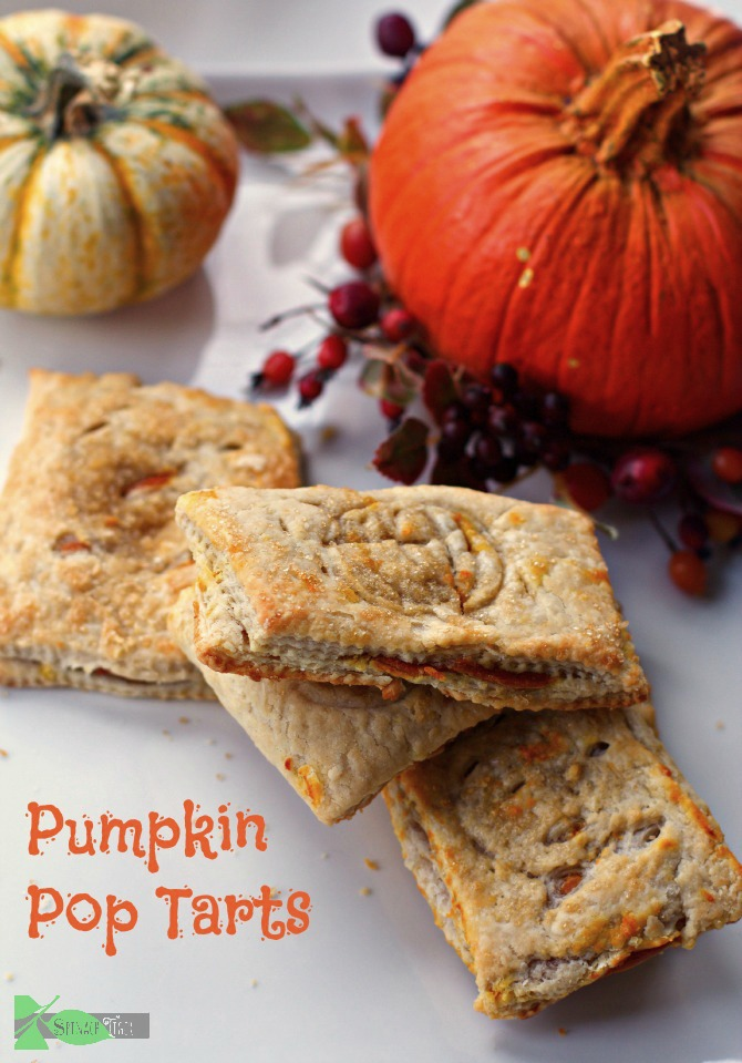 Pumpkin Pop Tarts by Spinach Tiger