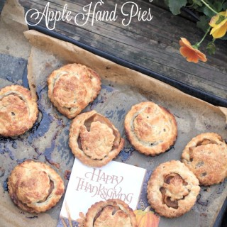 Bourbon Caramelized Apple Hand Pies, Just for a Time as This