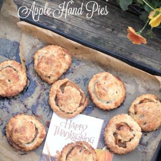 Bourbon Caramelized Apple Hand Pies