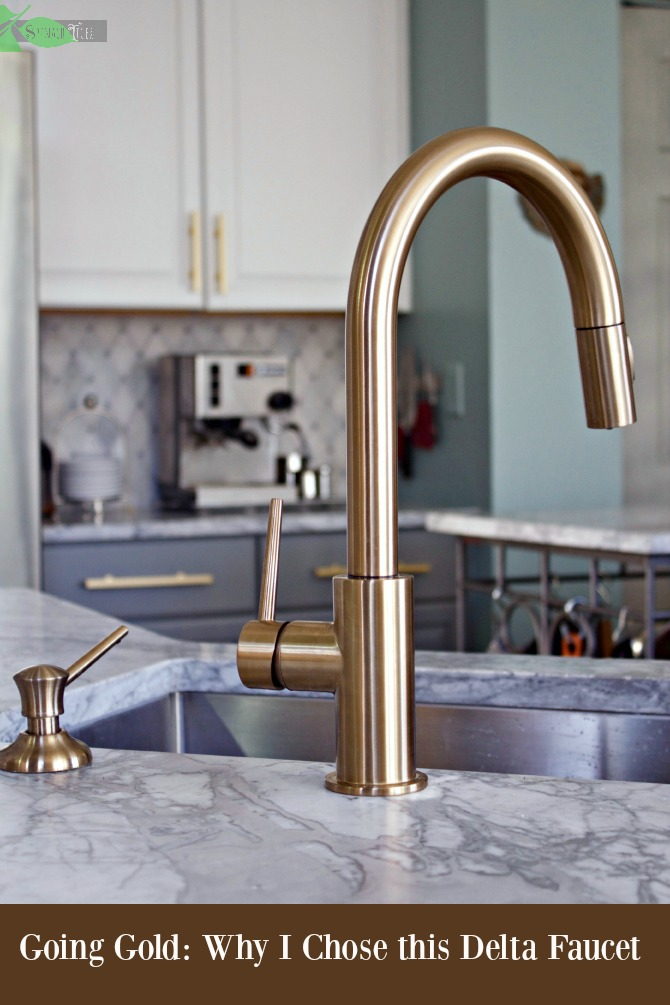 Rose Gold Kitchen Faucet
