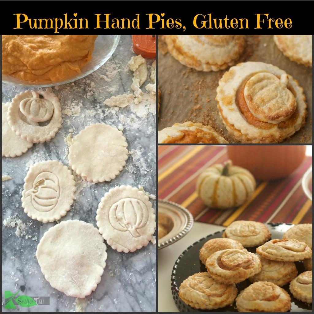 Gluten Free Pumpkin Hand PIes Gluten Free Baking Tips