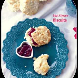 Goat Cheese Biscuits and Food Movies