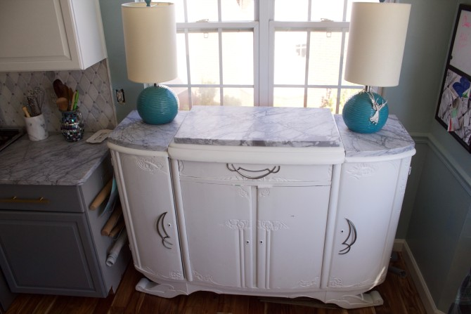 Choose carrara marble counters