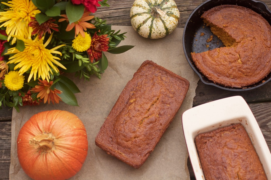 Pumpkin Bread from Spinach Tiger