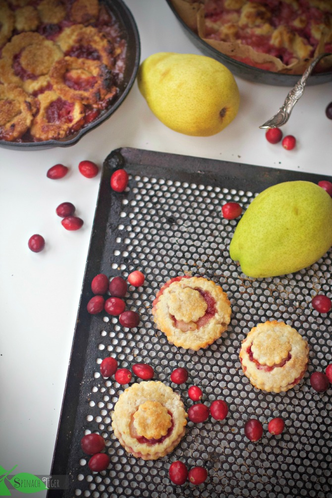 Pear Cranberry Hand PIes