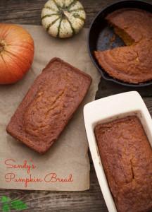 Pumpkin Bread from Spinach TIger