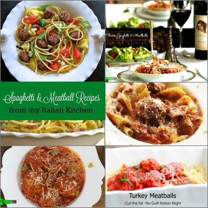 Spaghetti & Meatball Recipes