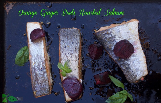 Ginger Roasted Salmon Recipe