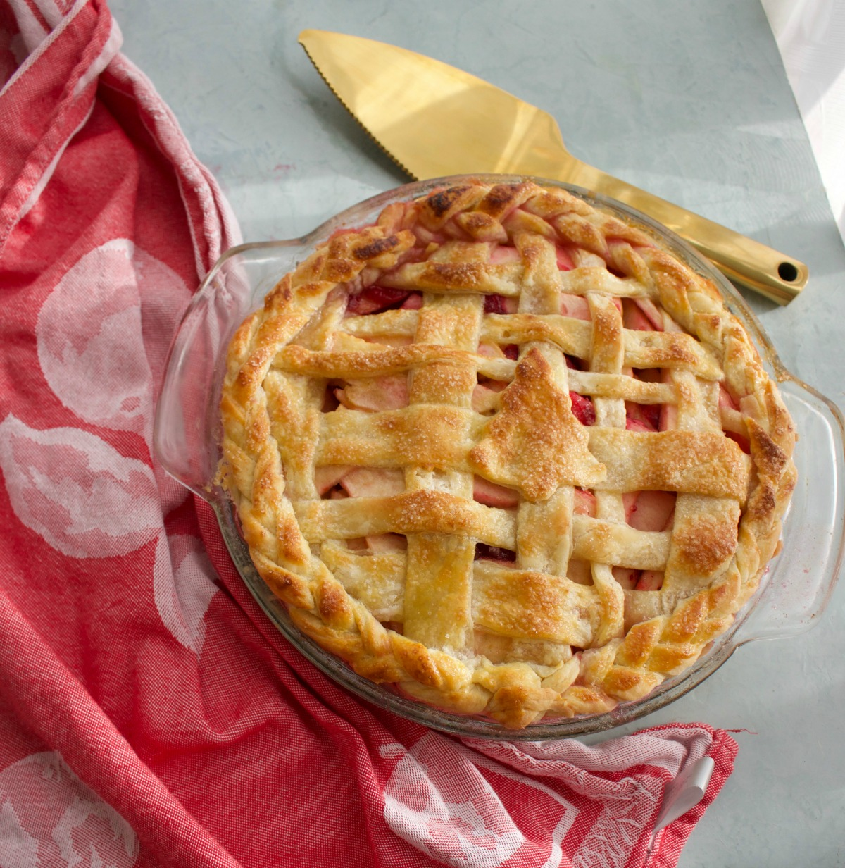 Christmas Apple Pie Spinach Tiger
