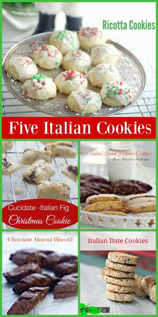 Five Italian Cookies