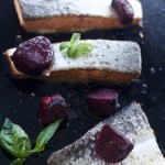 Ginger Roasted Salmon with Orange Roasted Beets
