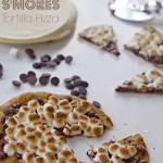 Tortilla S'mores Recipe with Gingered Chocolate