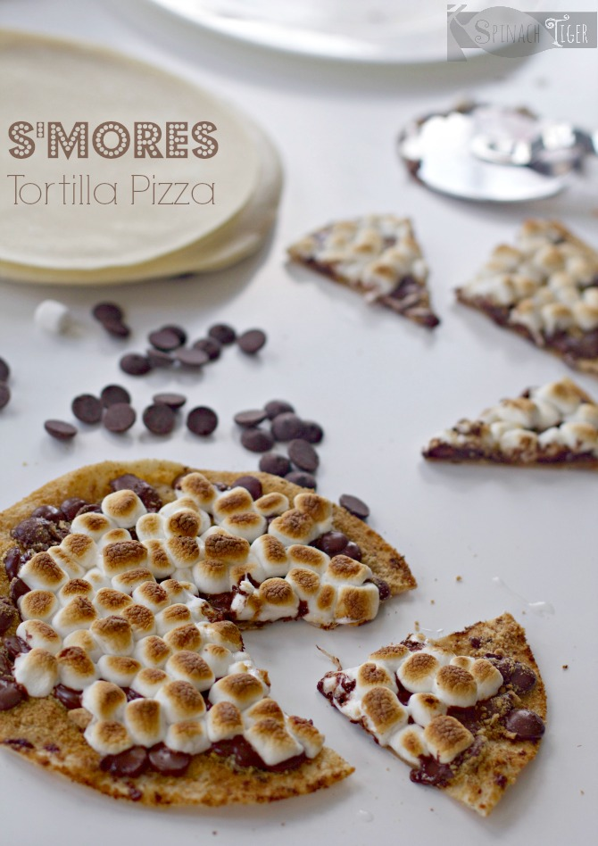 S'mores Recipe with Gingered Chocolate from Spinach Tiger