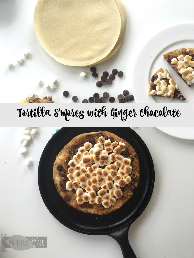 S'mores Tortilla by Spinach Tiger