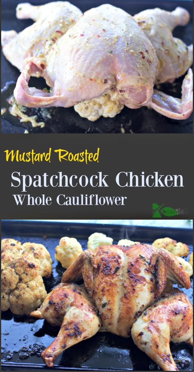Spatchcock Chicken Collage