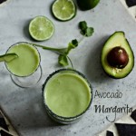 Avocado Margarita with Gran Gala Liquor