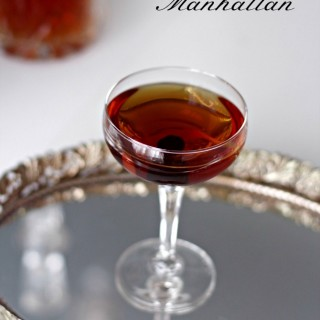 Bourbon Manhattan, a Red Carpet Drink