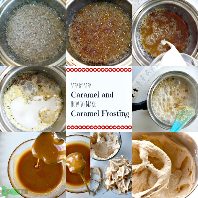 How to Make Caramel Frosting Recipe by Spinach Tiger