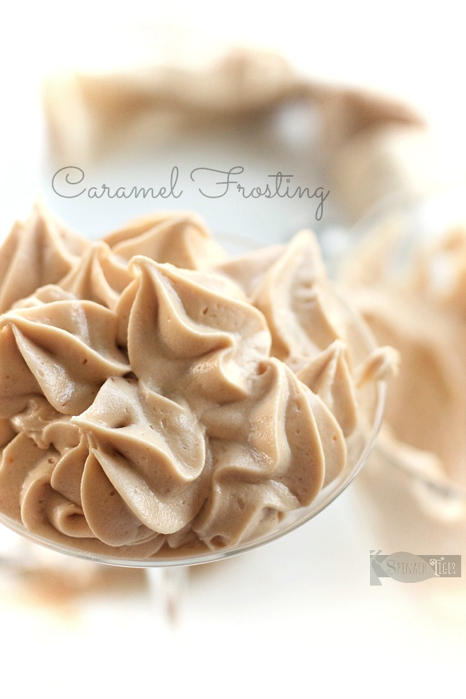 Caramel Frosting from Spinach Tiger
