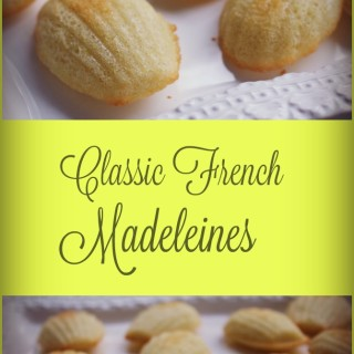 Classic French Madeleines Cookies and Book Review for Madeleines