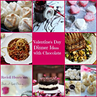 Valentine Dinner Recipes with Chocolate Desserts
