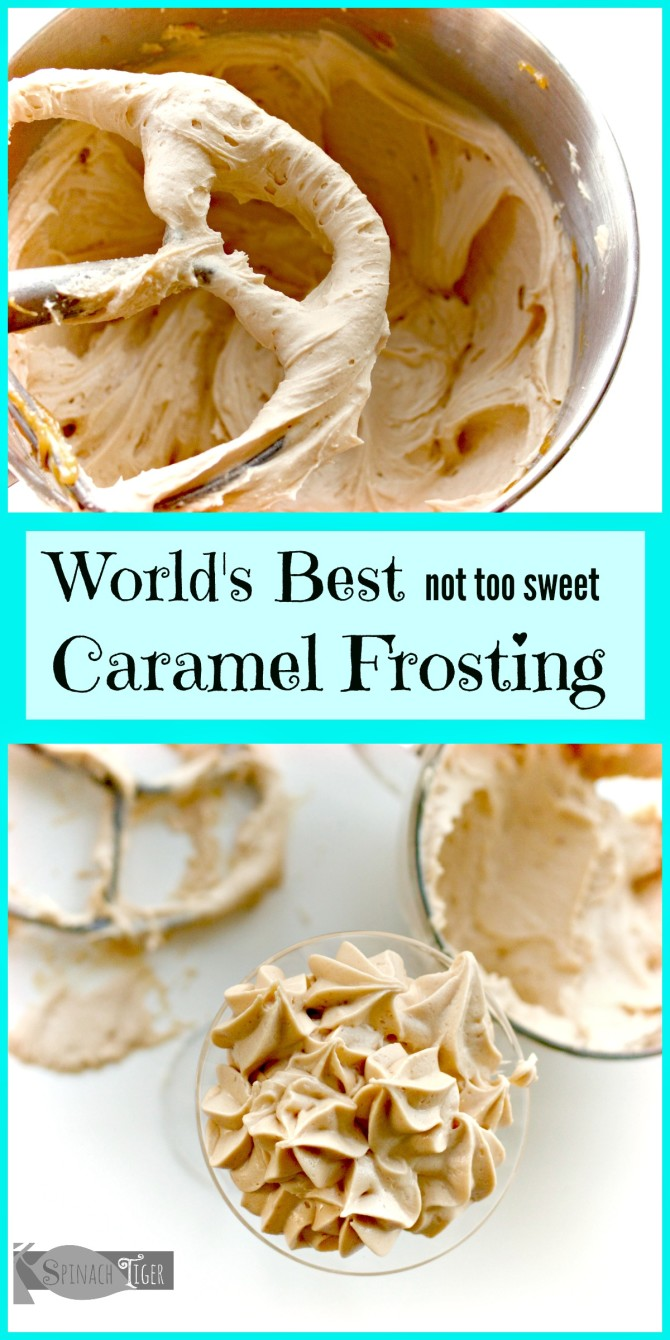 How to Make Best Caramel Frosting Recipe from Spinach Tiger