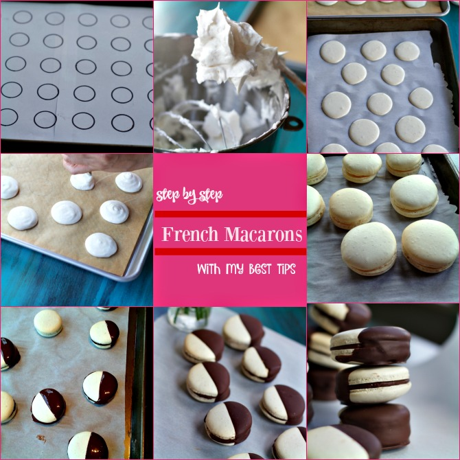 French Macaron Recipe from Spinach Tiger