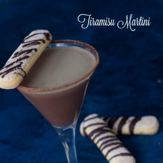 How to Make a Tiramisu Martini
