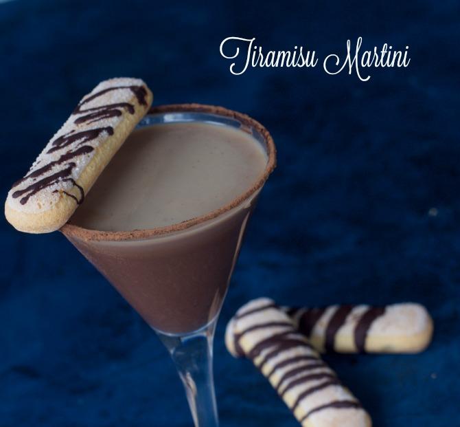 Tiramisu Martini from Spinach TIger