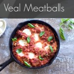 Veal Meatballs, with Ricotta and Fresh Mozzarella