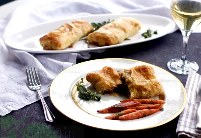 Quick Puff Pastry Recipe with Veal from Spinach Tiger