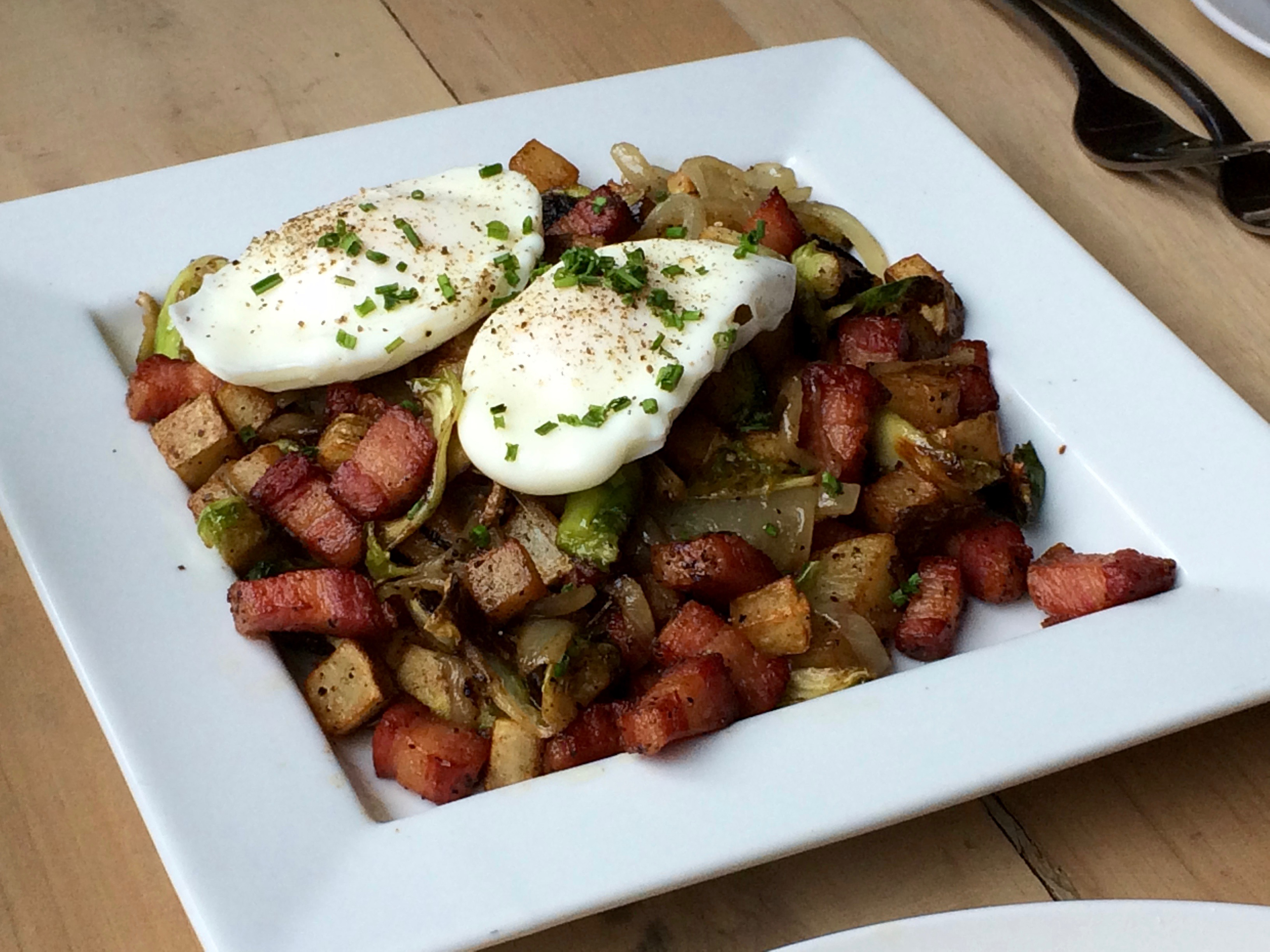 Brussels Sprouts Hash at The Tavern Kitchen & Bar