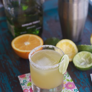 The Best Margarita Recipe with Fresh Citrus