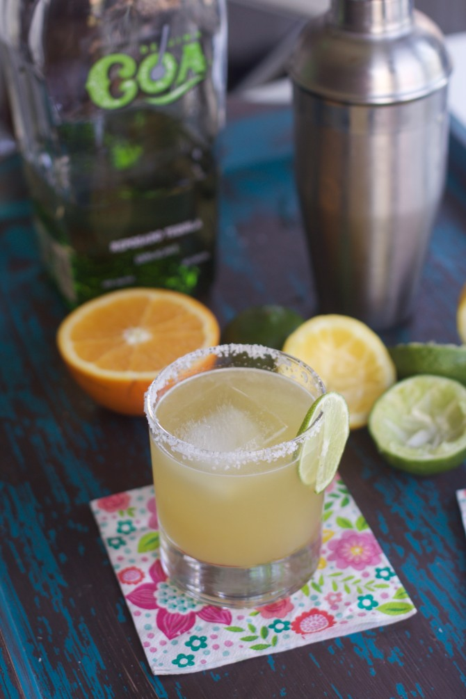Best Margarita Recipe from Spinach Tiger
