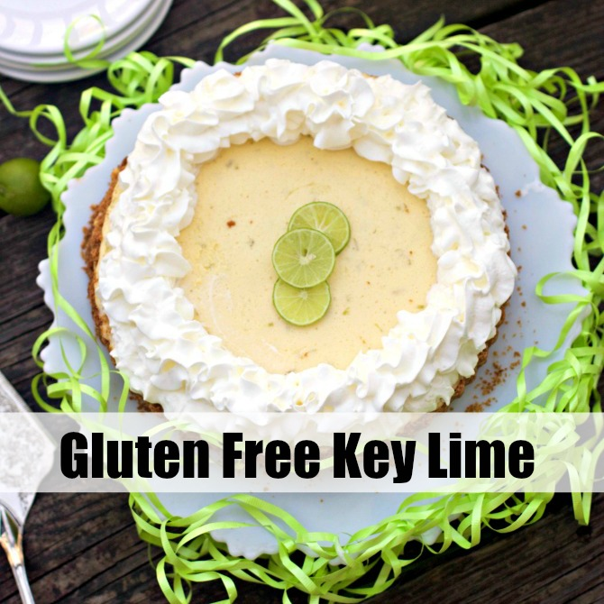Gluten Free Key Lime Pie from Spinach Tiger