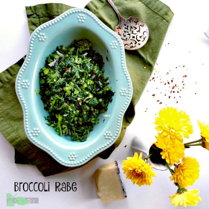 The Best Broccoli Rabe Recipe by Spinach Tiger